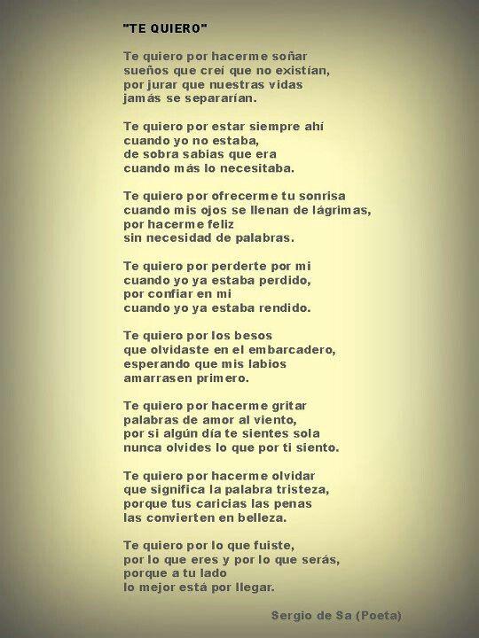 Para Ti Mi Amor De Mi Vida Frases Amor Pinterest Amor Frases