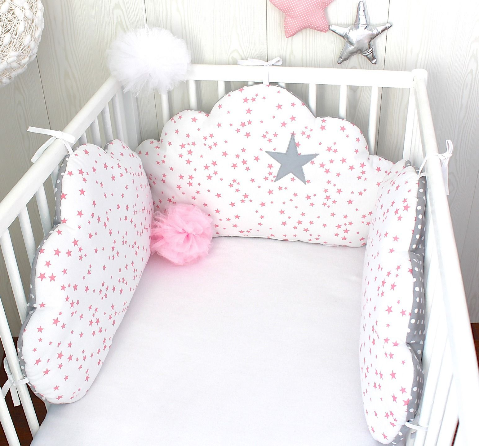 Tour de lit bébé ou décoration chambre d\'enfant, 3 grands ...