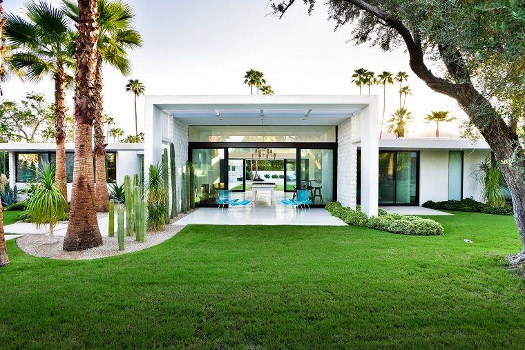 Come abbellire un giardino casa moderna con un 39 area for Idee per casa moderna