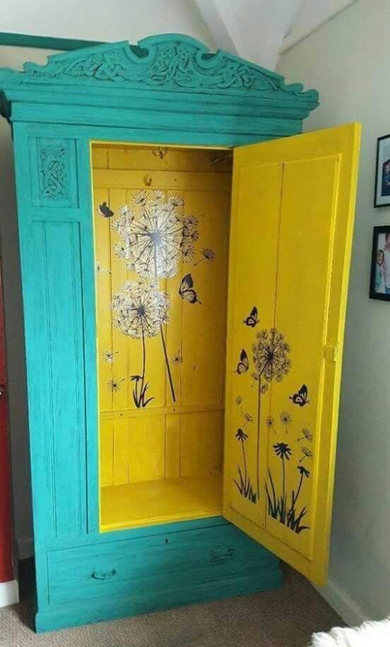 Idea For My Secretary Cabinet Interior In 2018 Pinterest - Reciclado-de-muebles-viejos