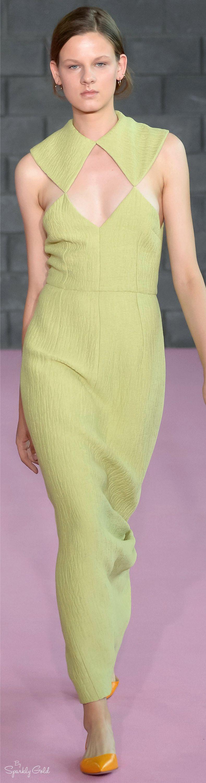 #Farbbberatung #Stilberatung #Farbenreich mit www.farben-reich.com Emilia Wickstead Spring 2016