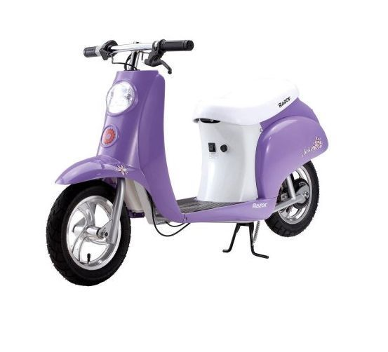 ced92aea927 Razor Pocket Mod Electric Motor Scooter Kids Moped Betty Vintage Ride  Battery #Razor