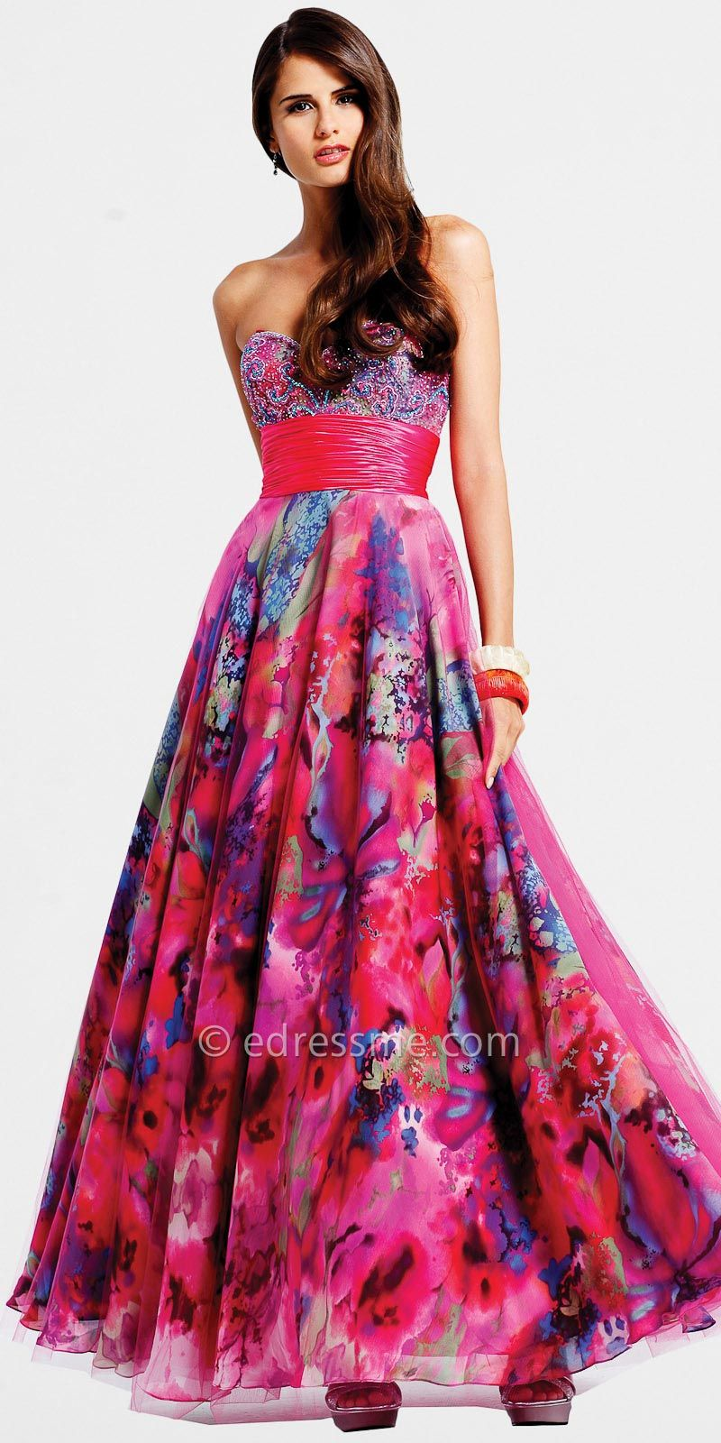 Strapless Ball Gowns by Faviana at eDressMe | My Style | Pinterest