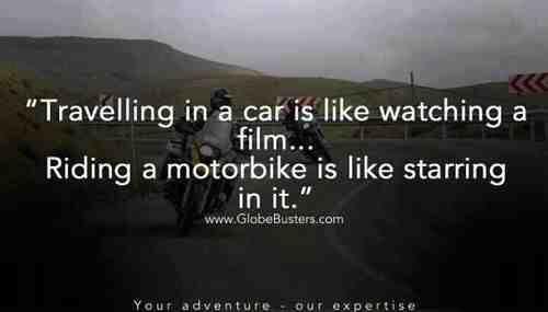 """""""Viajar en carro es como ver una pelicula. Viajar en moto es como protagonizarla"""" ✌️ Agree!!  #BikerThursday #Juevebes #JuevesBiker #BikerCulture #CulturaBiker #DisturbedCulture #DisturbedTendencies"""