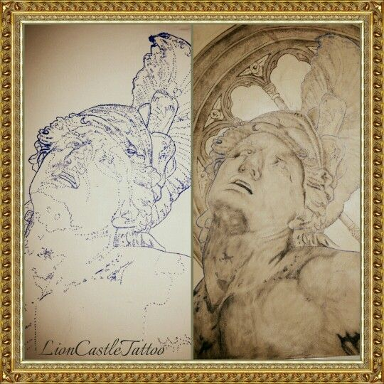 Tattoo Estatua Por LionCastleTattoo