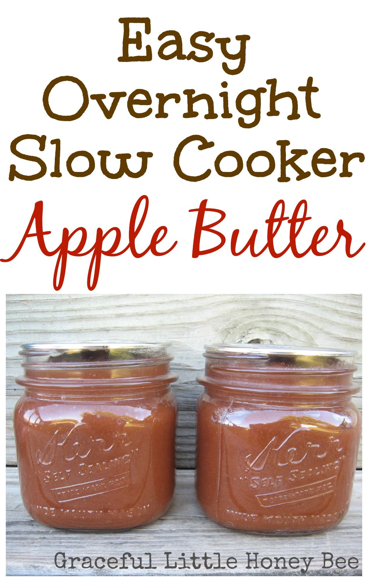 Slow Cooker Apple Butter #applerecipes