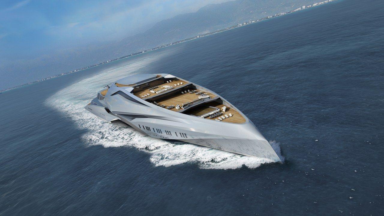 Tour The World S Biggest Superyacht Yacht Yacht Design Boat