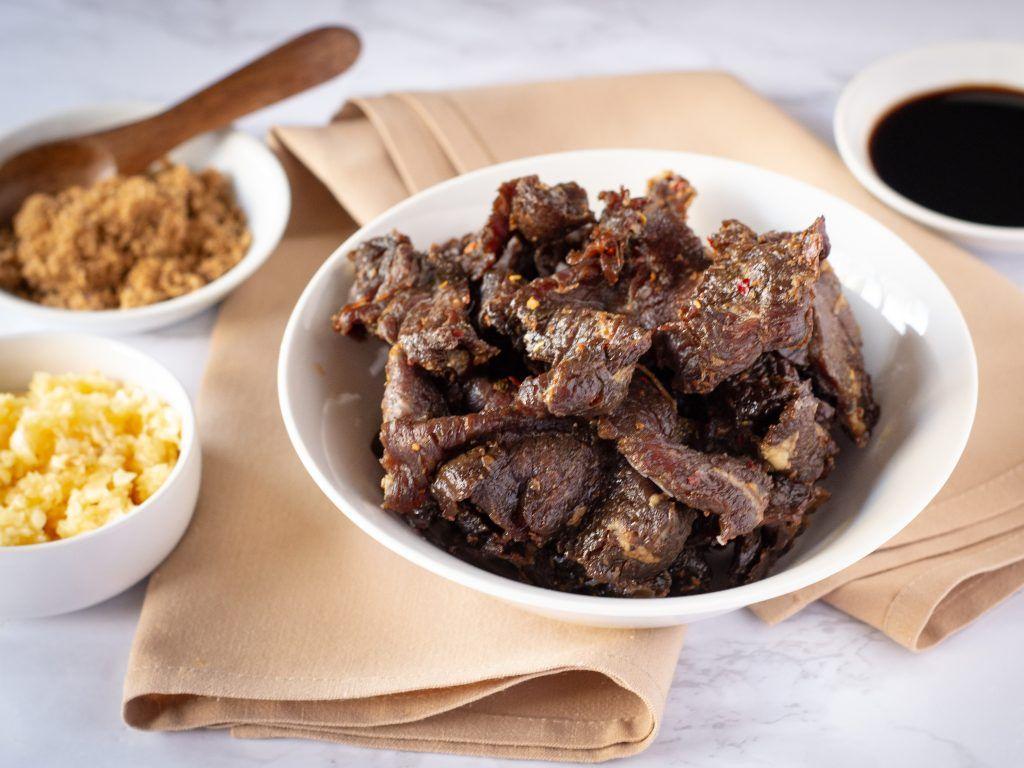 Teriyaki Air Fryer Beef Jerky GradFood Recipe in 2020