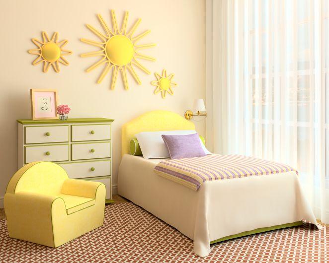 Decoración sencilla Habitación niñas | ideas decorations ...