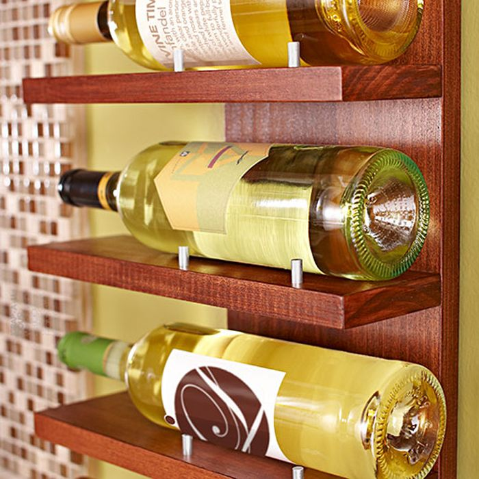 No room for a wine cellar? Just store and showcase your favorite ...