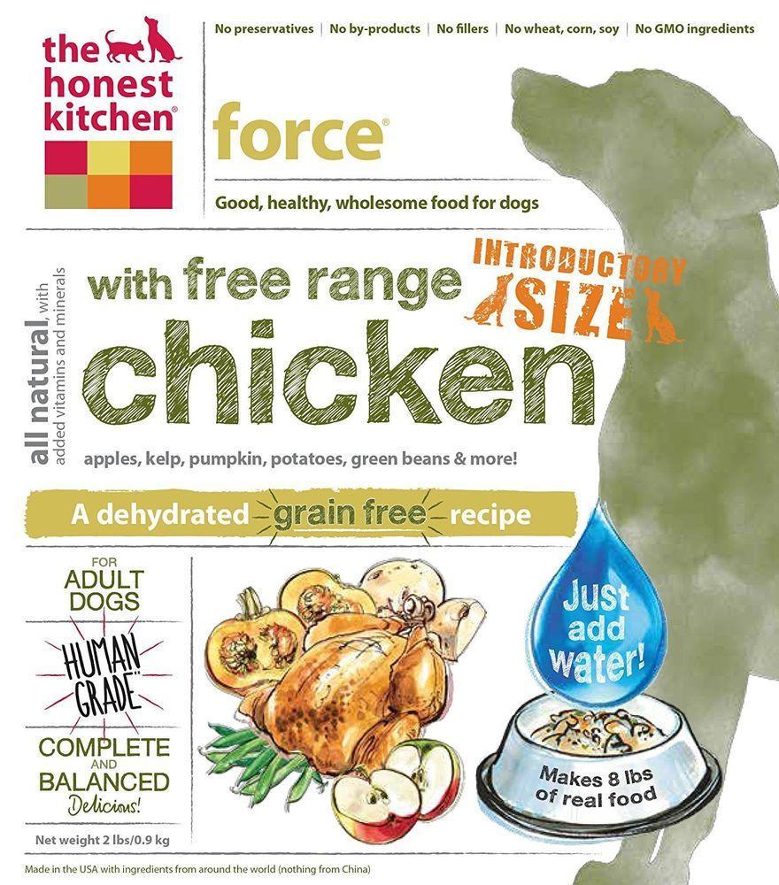 The Honest Kitchen Human Grade Dehydrated Grain Free Dog Food - Hot ...