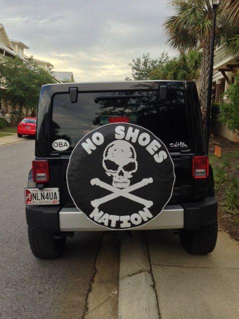 Spare Tire Cover Monogram Pirate Flag | ~ Jeeps ...