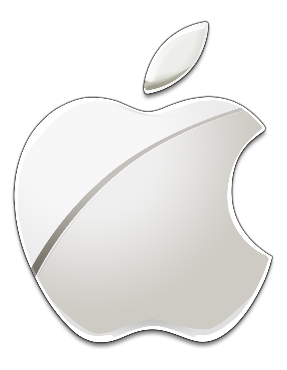 White Apple Logo Apple Logo Apple Brand Apple Products