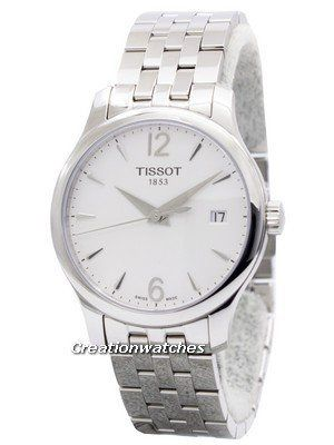 d0aab7e2cf9 Tissot T-Classic Tradition T063.210.11.037.00 T0632101103700 Women s Watch