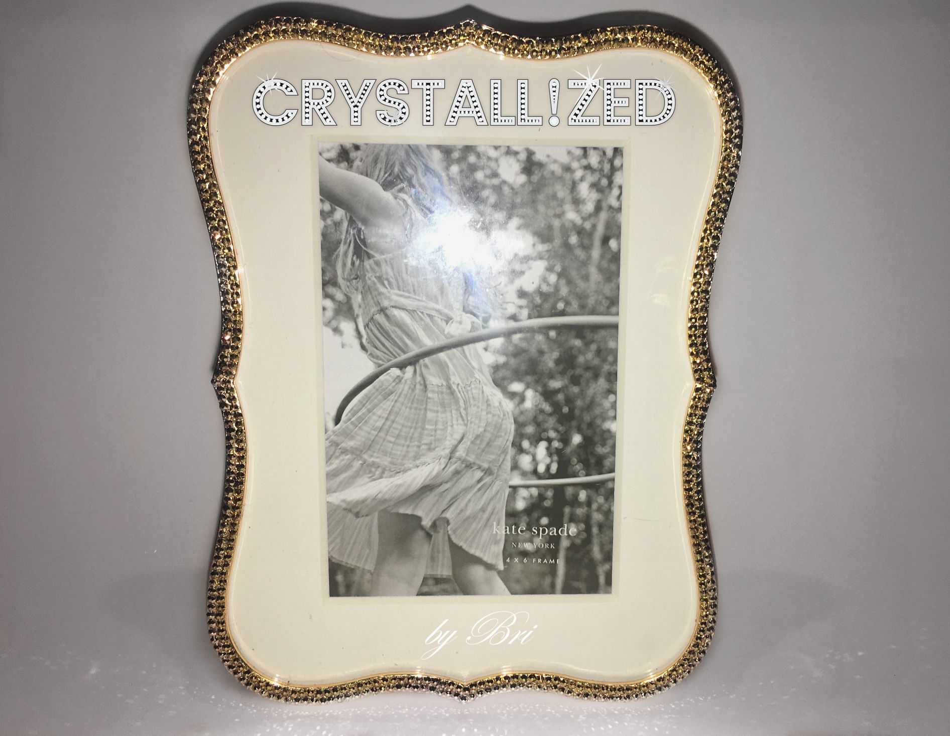 CRYSTALL!ZED Kate Spade crown point 4x6 Picture Frame - Gold ...