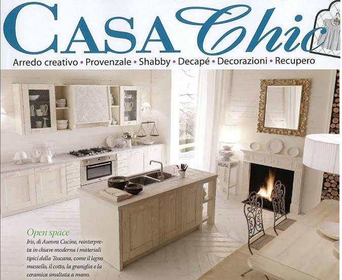 Su Casa Chic in copertina Aurora Cucine con #Iris, una delle linee ...