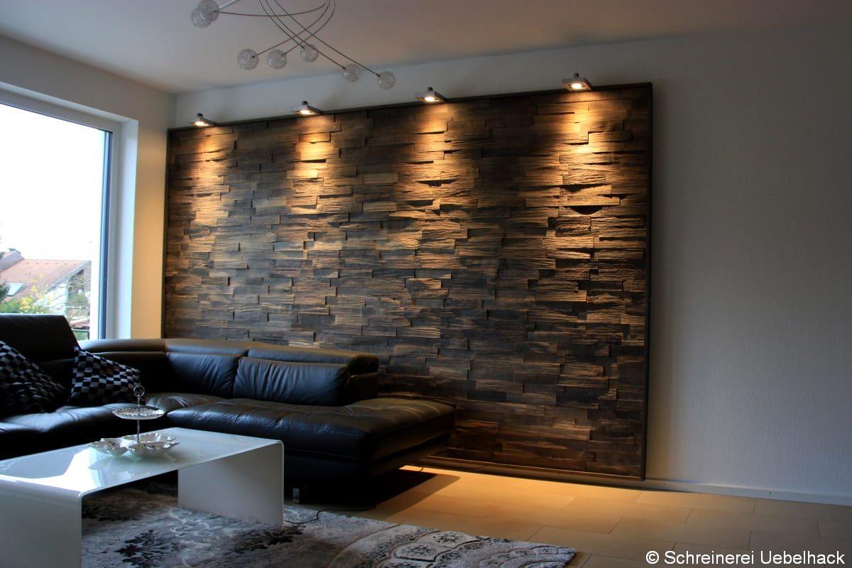 Wandverkleidung Stein Wohnzimmer Wandverkleidung Holz Und