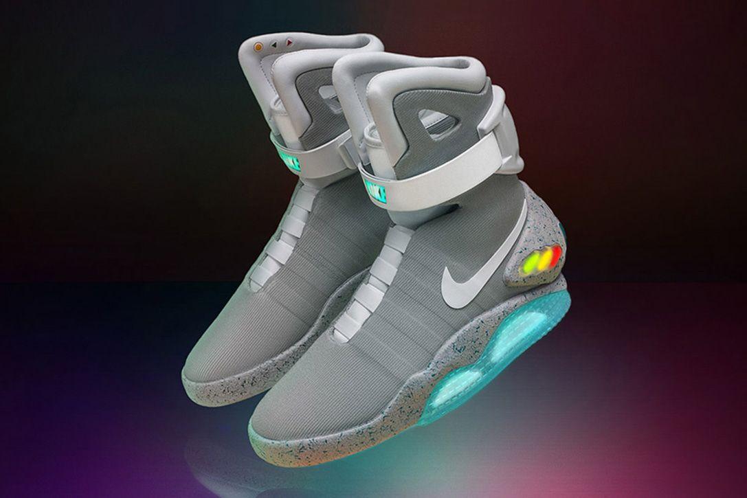 Expensive sneakers, Nike mag