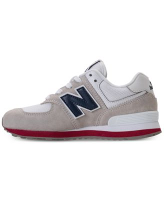 new arrival ed6a5 2236a New Balance Little Boys 574 Casual Sneakers from Finish Line - Gray 1.5