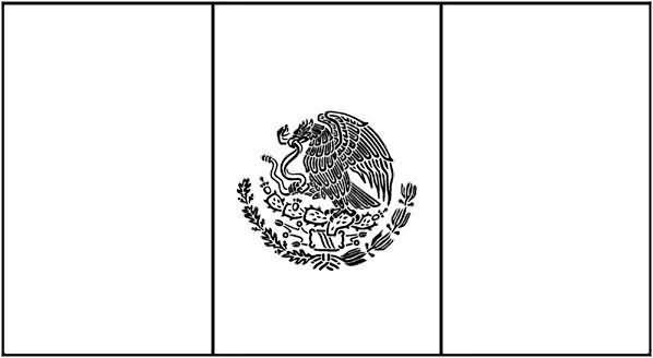 Paginas Para Colorear Bandera De Mexico | Proyectos que intentar ...
