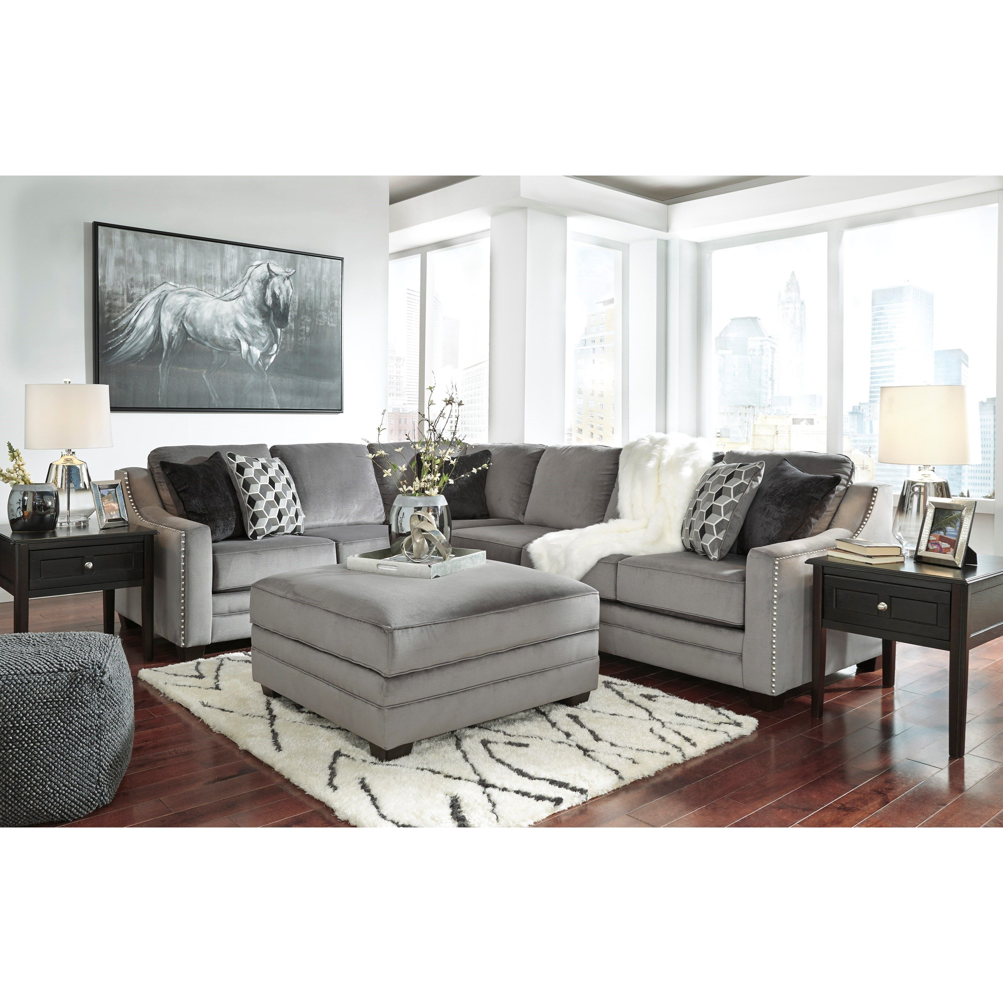 Best Bicknell Stationary Living Room Group By Benchcraft 400 x 300
