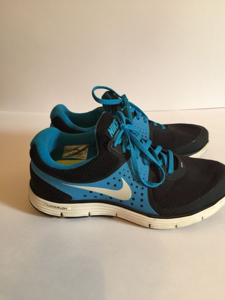 Nike Lunarswift 4 Womens Running Atletic Shoes Size 8.5 Blue And Black   fashion  clothing  shoes  accessories  womensshoes  athleticshoes (ebay  link) e529cccb1444