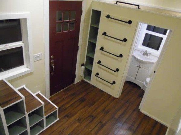 160 Sq Ft Birchwood Tiny House on Wheels – 8X20 Tiny House Floor Plans