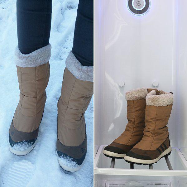 #눈 #snow #winter #겨울 #신발 #관리 #어그부츠 #드라이크리닝 하기 힘든 #부츠 #스타일러 에게 맡겨봐 #옷 뿐만 아니라…