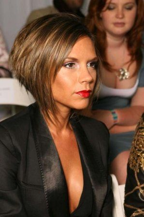 15 coiffures iconiques de stars hair style haircuts and hair coloring - Carre plongeant victoria beckham ...