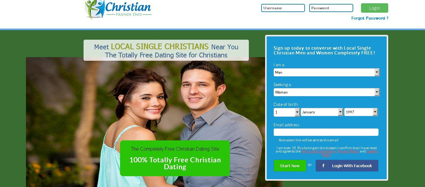 Is there a totally free christian dating site