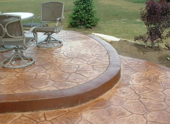 Superbe 6 Good Average Cost Of Stamped Concrete Patio