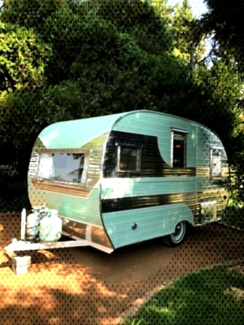 45 Pretty Vintage Campers Trailers Ideas For Minimalist Place - DECOONA - 45 Pretty Vintage Camper