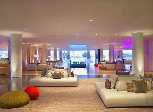 W Hotel Barcelona Living Room Lounge Bar