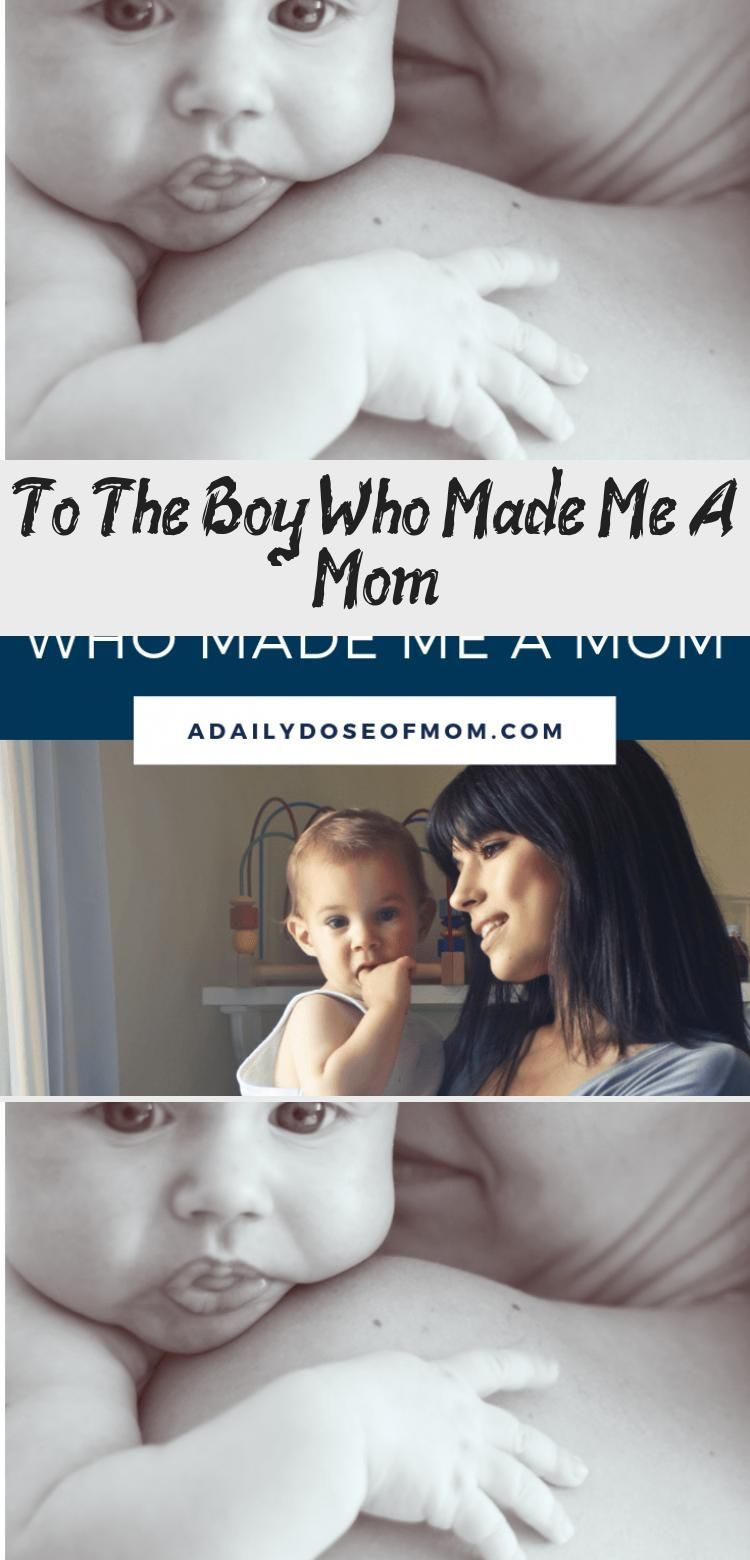 #boy #heartfelt #Letter #Mom #Pin #Read A heartfelt letter to the little boy who made me a mom! Pin it to read later! #momandbabyPhotography #momandbabyPoster #momandbabyYoga #momandbaby
