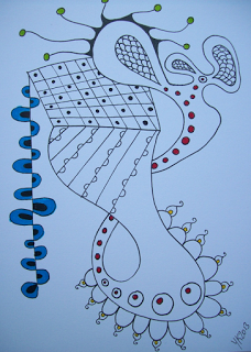 365 freestyle color zentangles