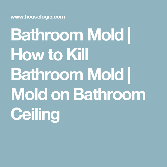 How To Kill And Prevent Bathroom Mold Bathroom Mold - Bathroom mold killer