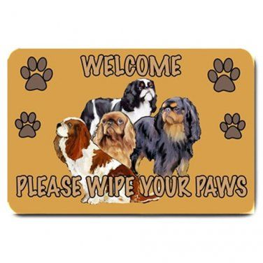 Welcome Mat English Toy Spaniels English Toy Spaniel