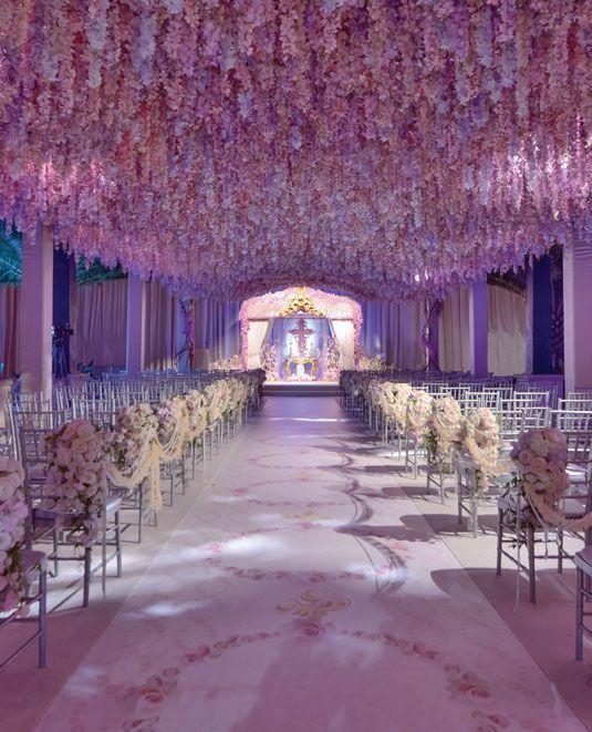 10 Incroyables Decors Dignes D Un Veritable Mariage De Princesse
