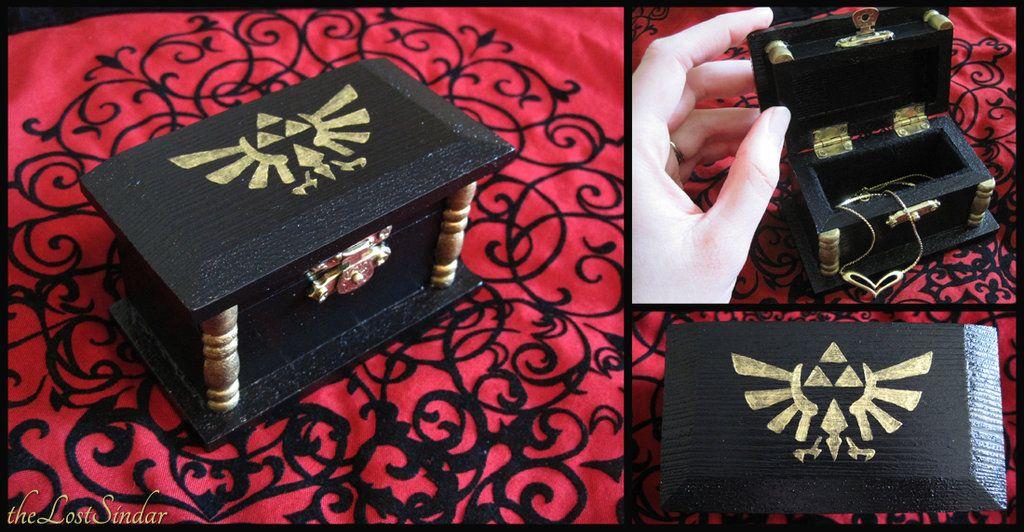 Hylian Treasure Box by theLostSindar. & Hylian Treasure Box by theLostSindar. Someone make me this | The ... Aboutintivar.Com