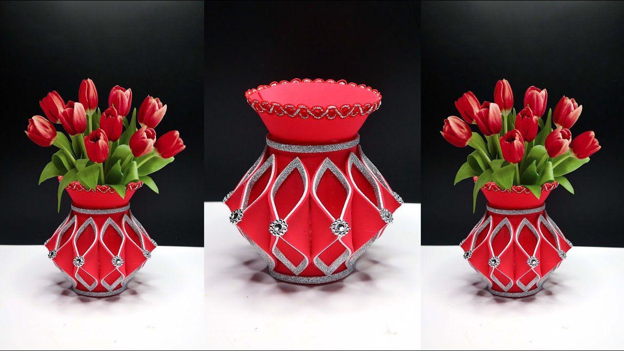 Ide Kreatif Vas Bunga Cantik Dari Botol Plastik Bekas In 2020