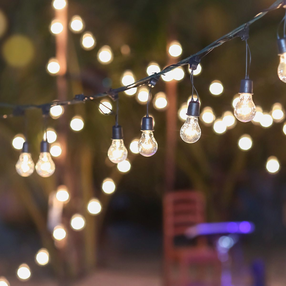 Garden String Lights Inspiration 15 Ideas For Outdoor String Lights That Will Make You Want To Live