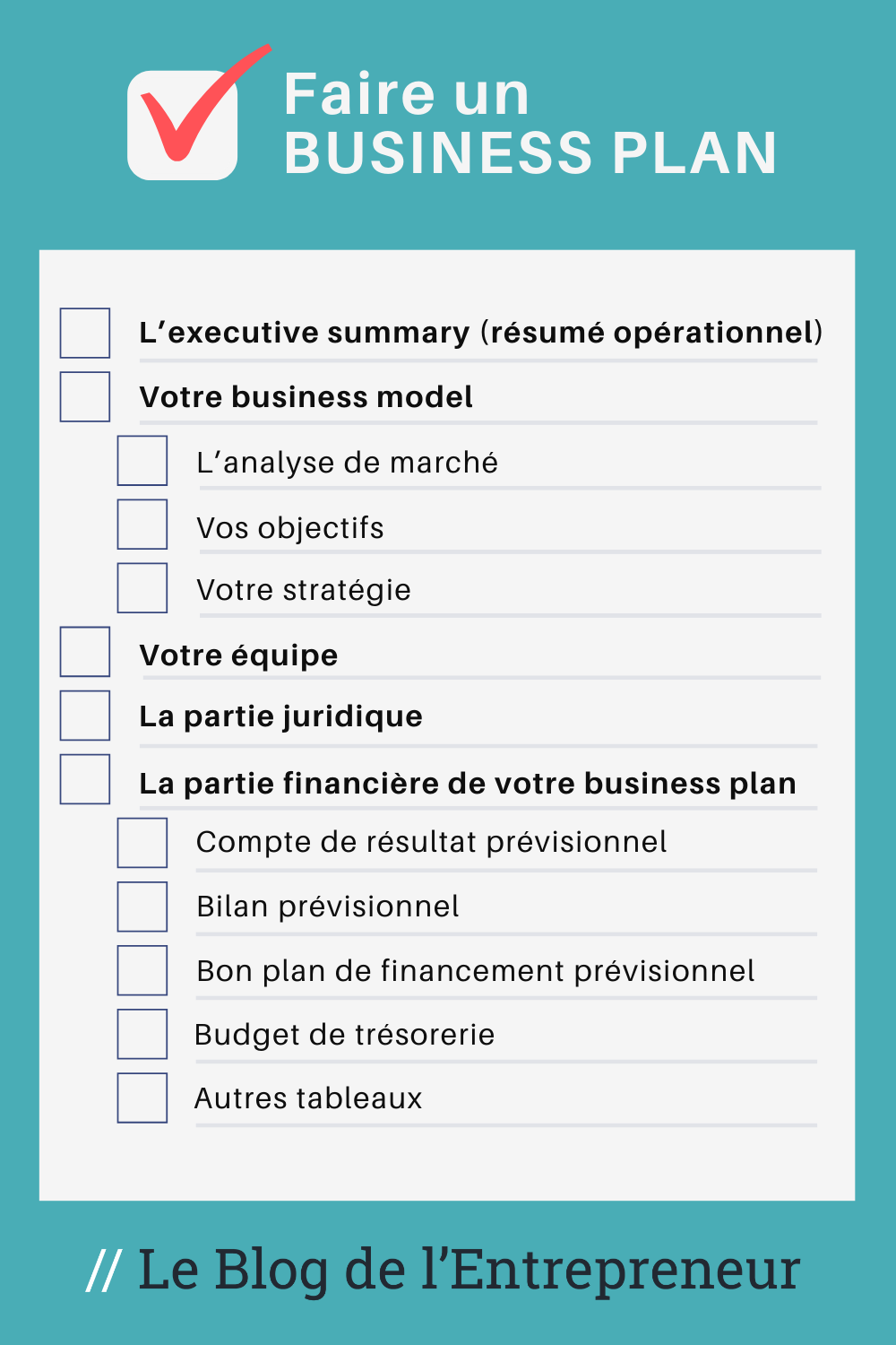 Todo List faire un business plan en 2020 Projets d