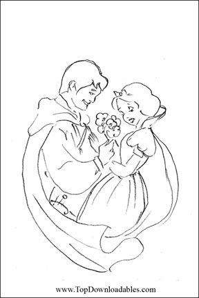 Free Printable Wedding Coloring Pages (met afbeeldingen