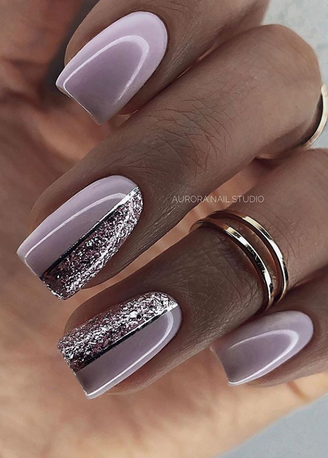 30 Beautiful Natural Short Square Nails Design For Early Spring 2020 Page 26 Of 30 Latest Fashion Trends For Woman In 2020 Square Nail Designs Short Square Nails Manicure Nail Designs