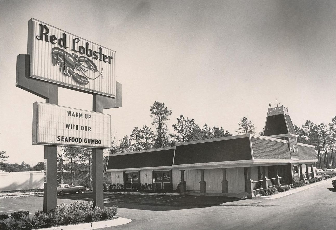 Vintage Red Lobster Vintage Retail Signs Ads Americana