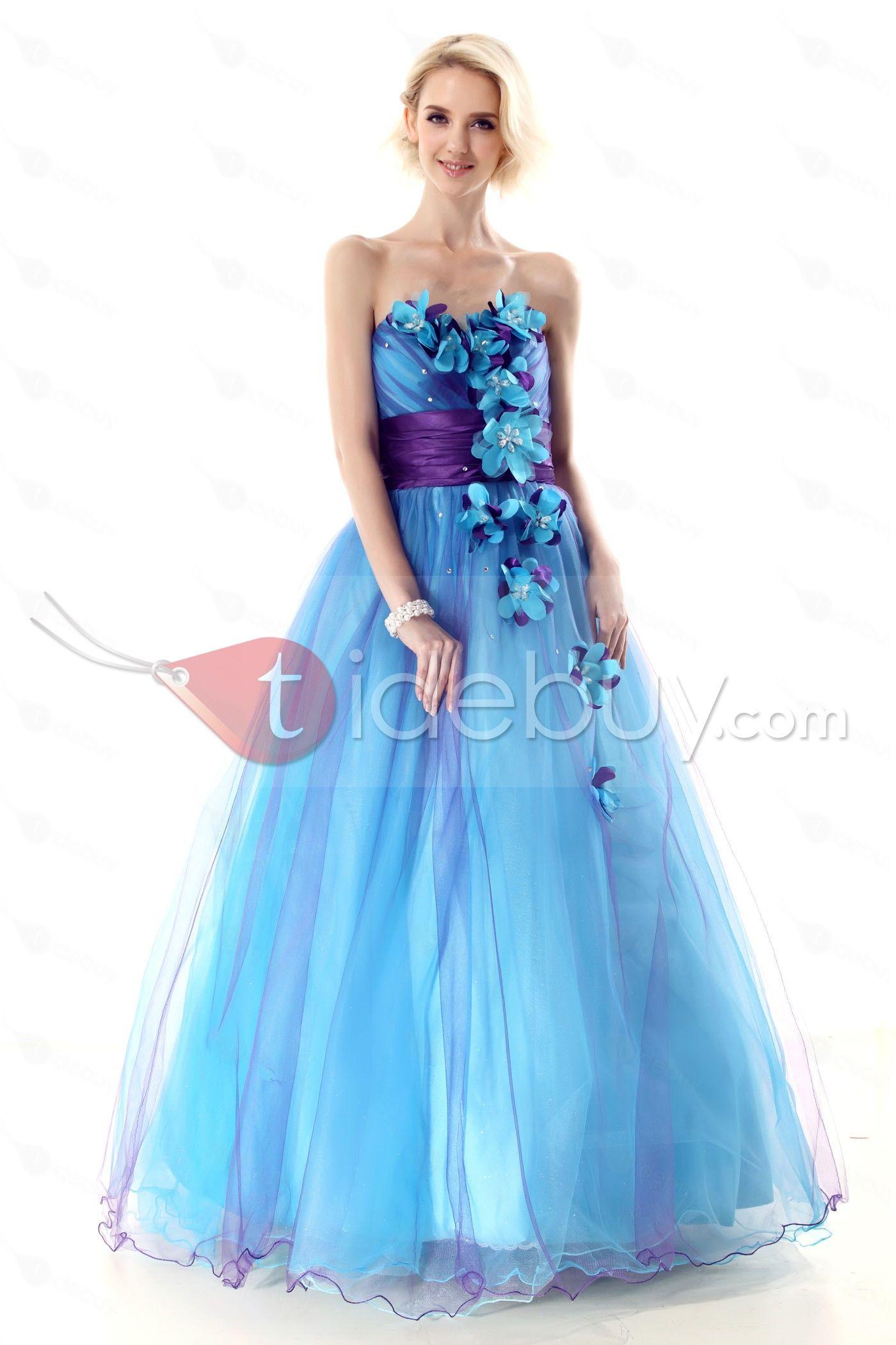 Glamorous Sweetheart Flowers A-Line Nastye\'s Long Quinceanera Dress ...