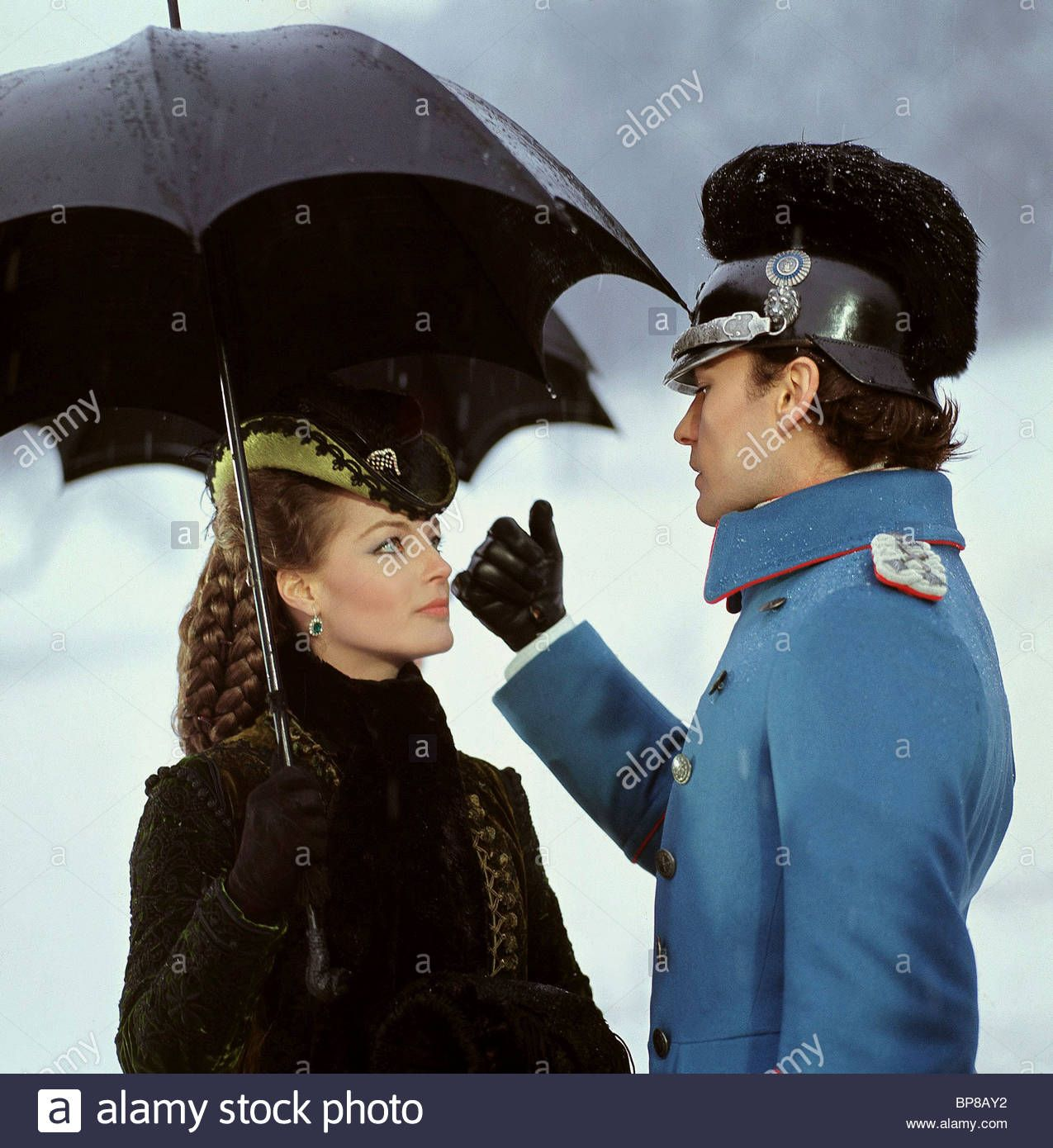 Download This Stock Image Romy Schneider Helmut Berger Ludwig
