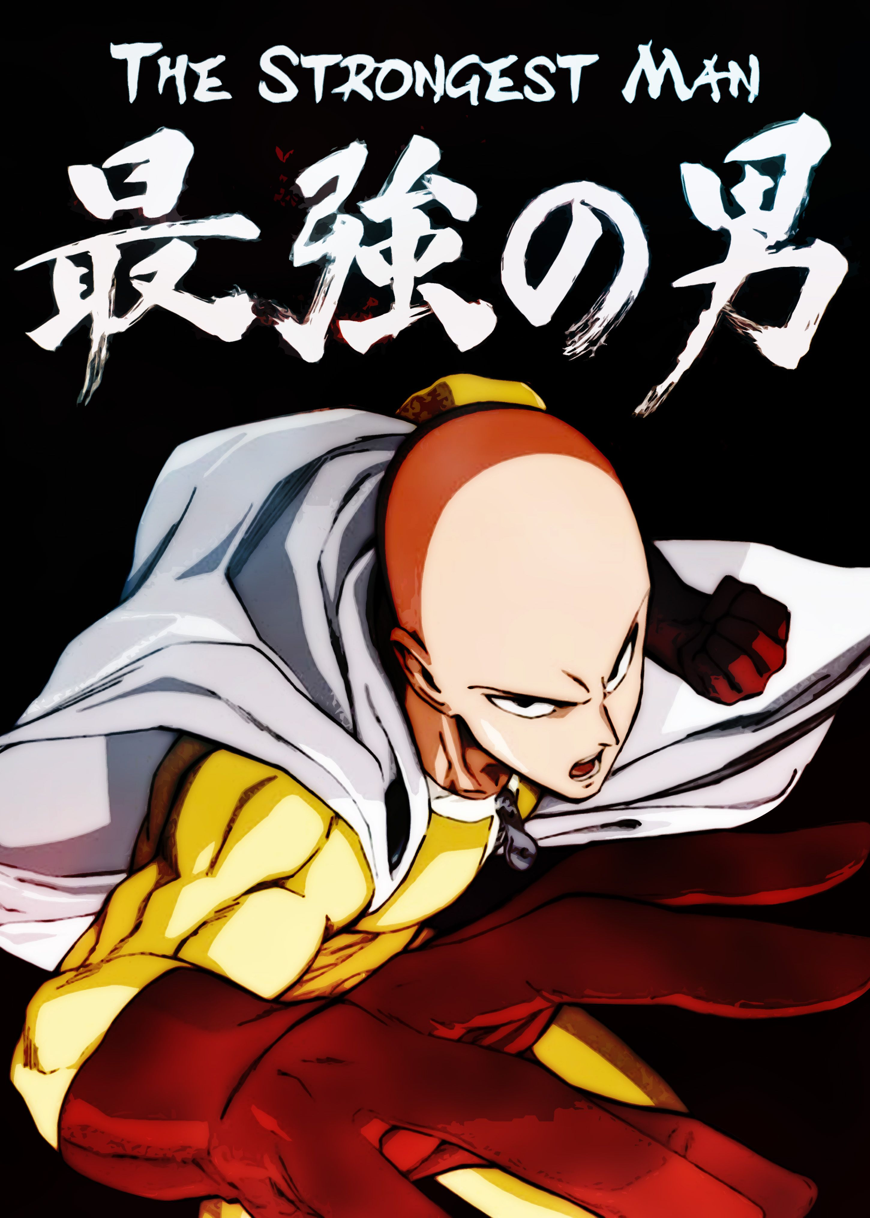 Saitama The Strongest Man in 2020 One punch man anime