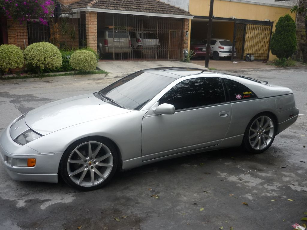 Nissan 300zx 1991 nissan 300zx 300zx 91 silver monterrey owned by