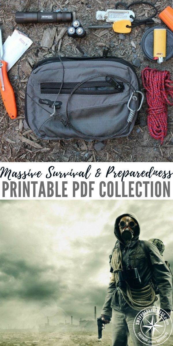 Massive Survival & Preparedness Printable PDF Collection